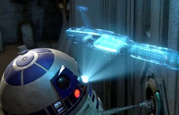 Star Wars'taki hologram teknolojisi gerçek oluyor!